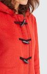 Dufflecoat in Rot
