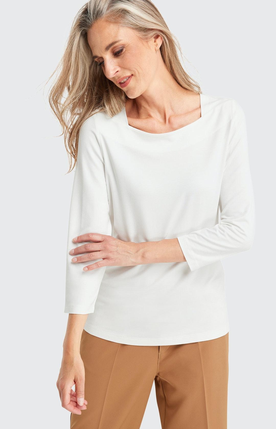 Shirt mit 2/3 Ärmel