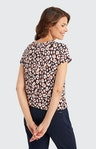 T-Shirt mit Allover-Muster