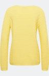 Pullover mit Strukturmuster in Gelb