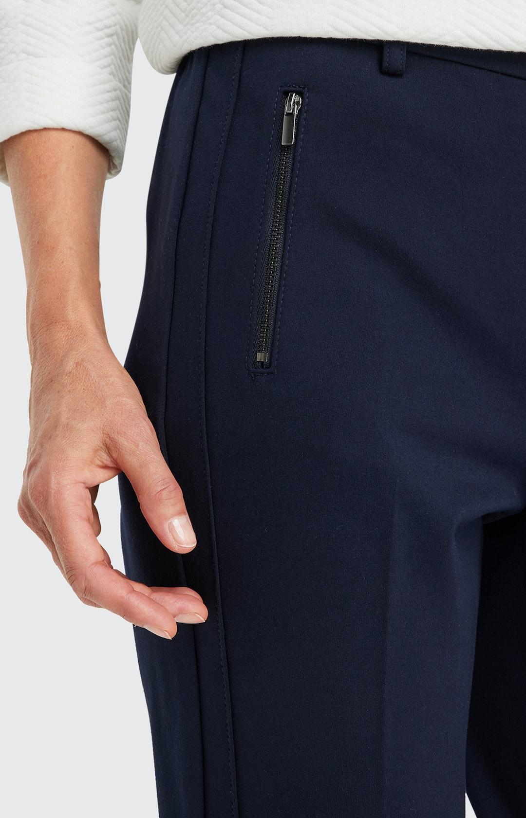 Hose mit Reißverschlusstaschen