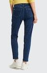 Slim Fit Jeans in Dunkelblau