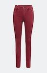 Regular Fit Jeans in Bordeaux Rot