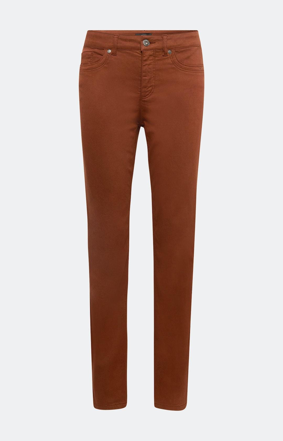 Regular Fit Jeans in Braun