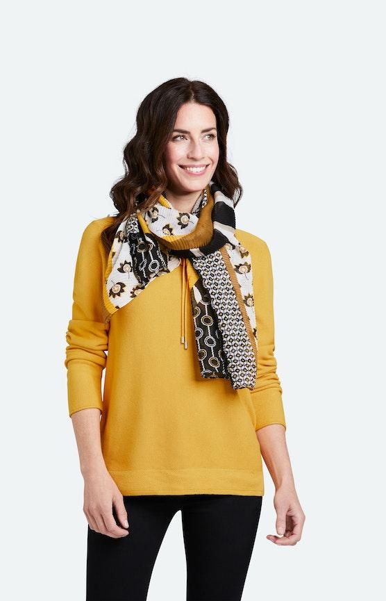 leichter Plissee Schal