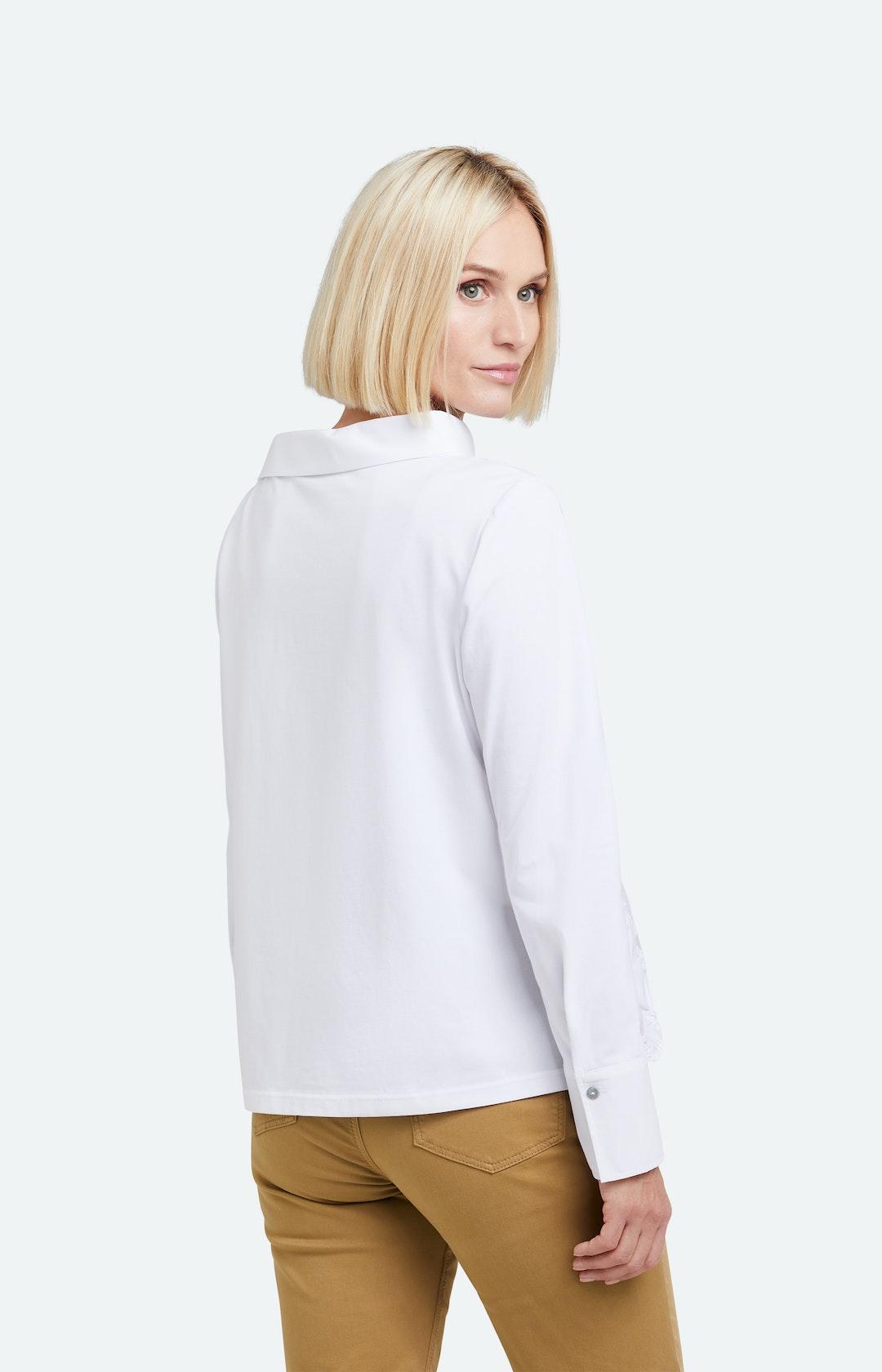 Bluse mit langem Ärmel